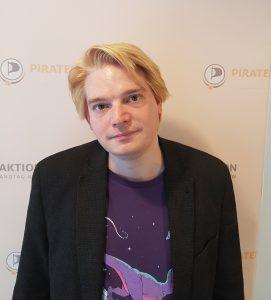 Piraten-Verkehrsexperte Oliver Bayer